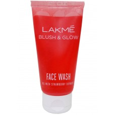 Lakme Strawberry Silk Face Wash 100g