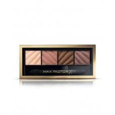 Max Factor Smokey Eye Matte Drama Kit, Eyeshadow Palette, 10 Alluring Nudes, 1.8g