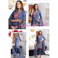 RUQAYYAH'S Embroidered Cambric Cotton
